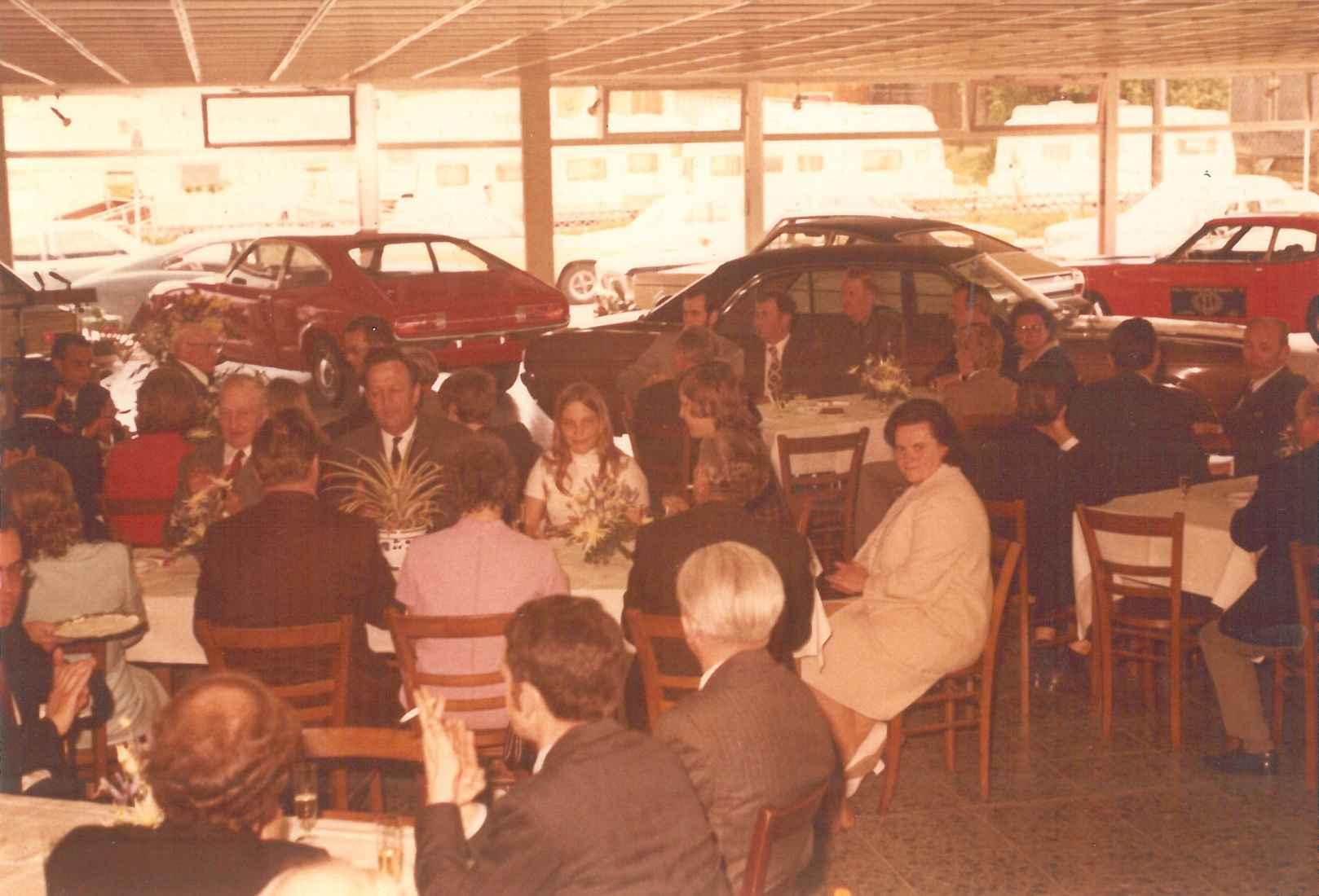 1972 Eröffnung des neuen Autohauses